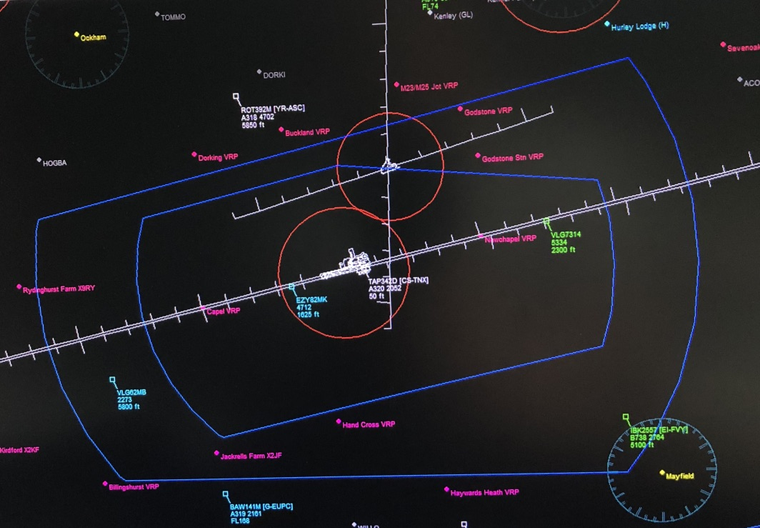 Guidance To Pilots to Avoid Infringing the Gatwick CTA